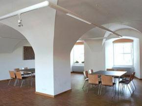 Tagungsraum während der Ausbildung in Passau